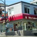 Tilley Endurables Western Inc. 2401 Granville Street Vancouver, BC V6H 3G5 Canada  Phone: 604-732-4287