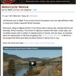 Special thanks once again to our media sponsor Canadian Motorcycle Rider online magazine. The Managing Editor, Webmaster Dan McAfee, has posted this article on our most recent video of a lakeside motorcycle alongside Nicola Lake British Columbia Part 2.