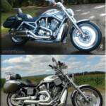 Our 2003 Harley Davidson 100th Anniversary VRSCA VROD has come a long way since we bought it. Here's a before and after with all the changes and mods up to date. There will be more work invested into it over the upcoming winter and we'll be posting the progress updates here and in social media