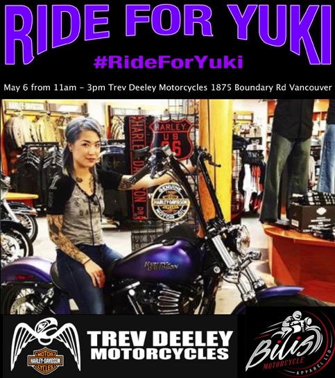 Ride For Yuki
