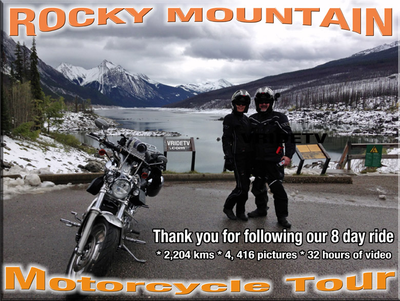 Rocky mountain motorcycle ride