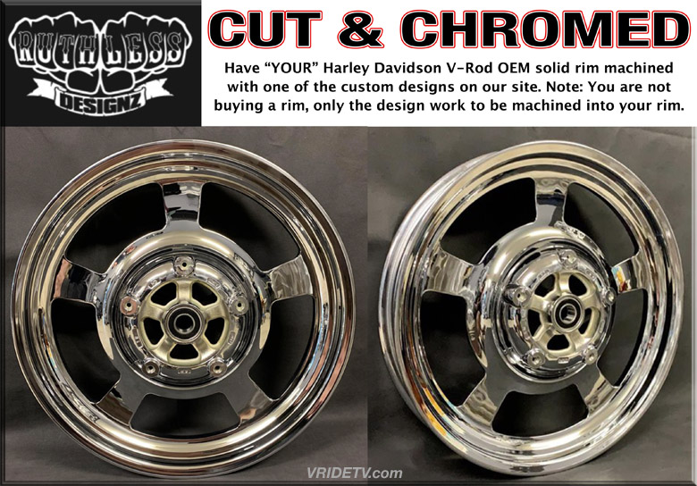 CHROME VROD WHEEL