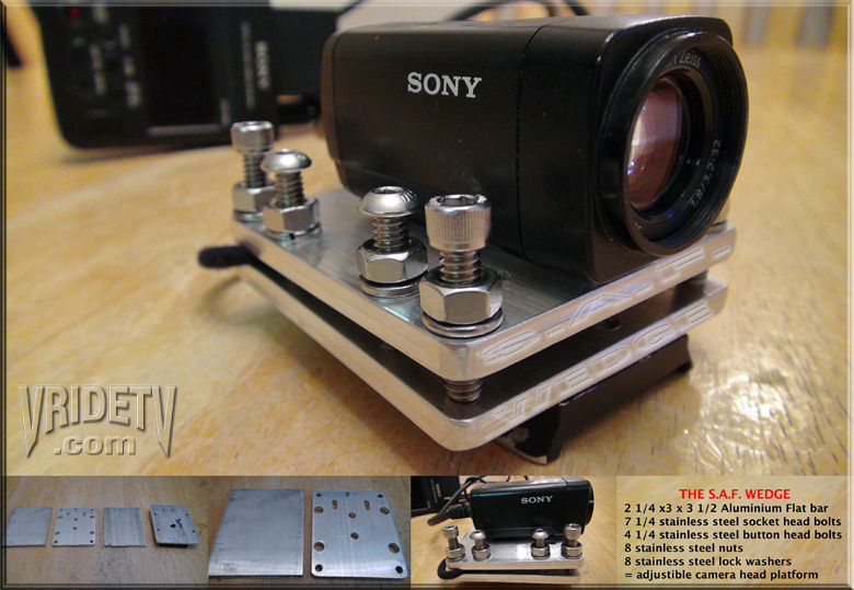 camera wedge