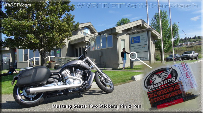 Vridetv sticker stash at tourism kamloops