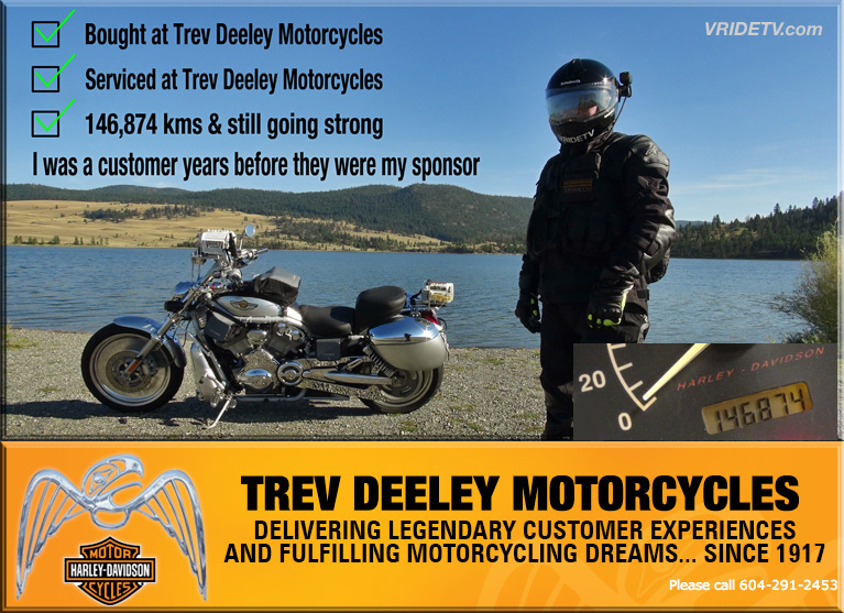 Trev Deeley Motorcycles and VRIDETV