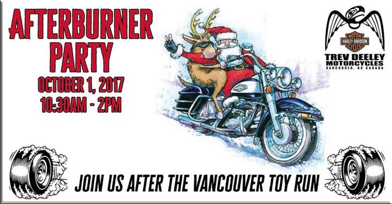 TDMC Vancouver toy run party
