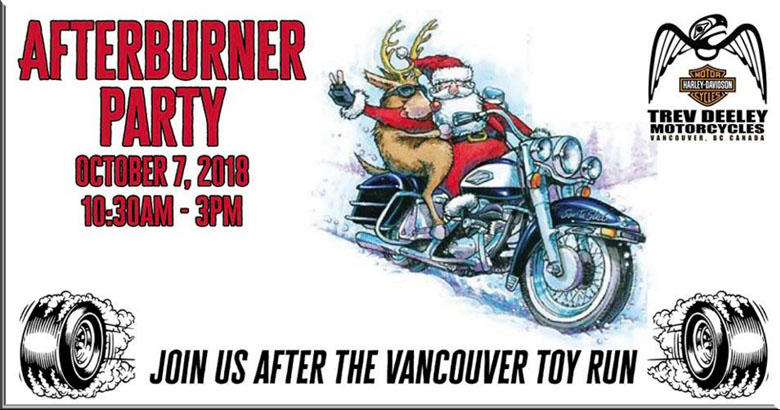 vancouver toy run party