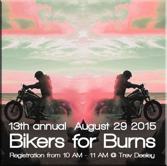Bikers for burns