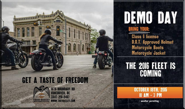 trev deeley motorcycles