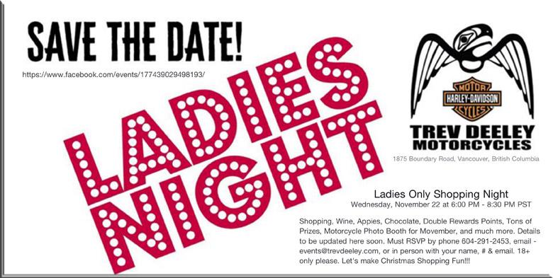 ladies night at tdmc