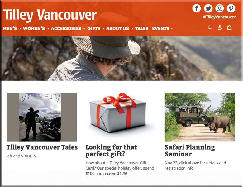 tilley vancouver index featuring VRIDETVcom