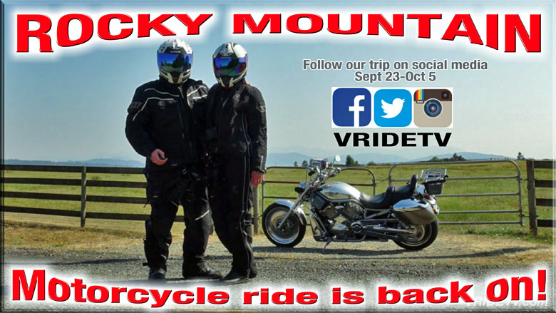 Rocky Mountain Motorcycle Trip