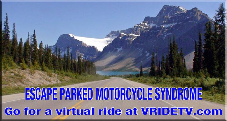 Virtual motorcycle ride