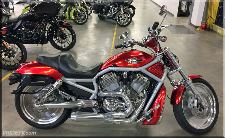 VROD at trev deeley motorcycles Vancouver