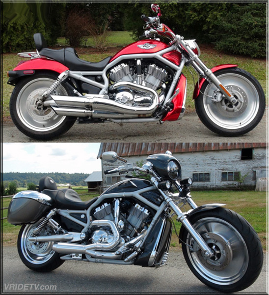 VROD before and after