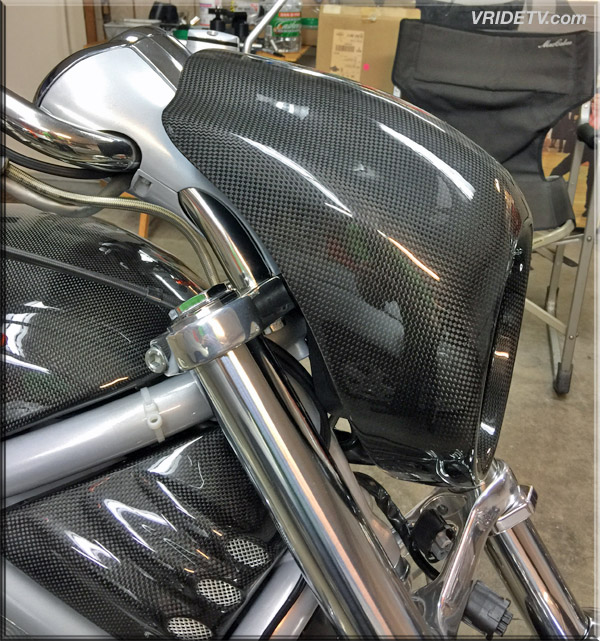 Vrod cowl fitment