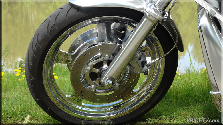 Vrod front wheel