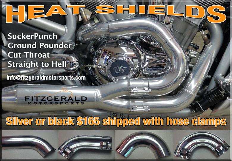 Vrod heat shields