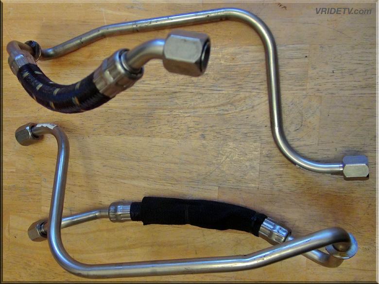vrod oil cooler lines for sale