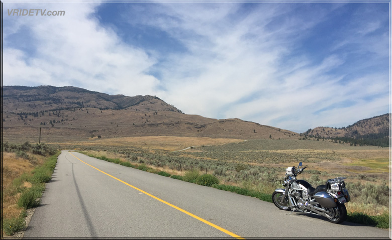Harley Davidson Vrod and the open road