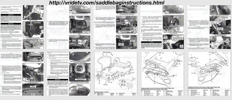 vrod saddlebag installation instructions
