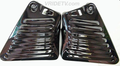VROD louvered side covers
