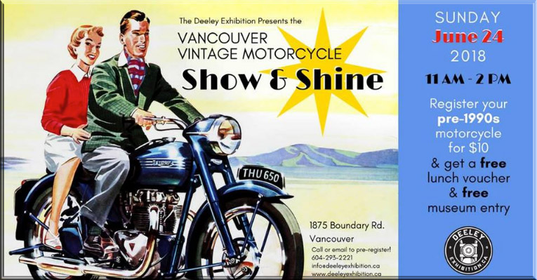 Vancouver Vintage Motorcycle Show & Shine