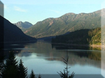 Buttle Lake Vancouver island British columbia Canada