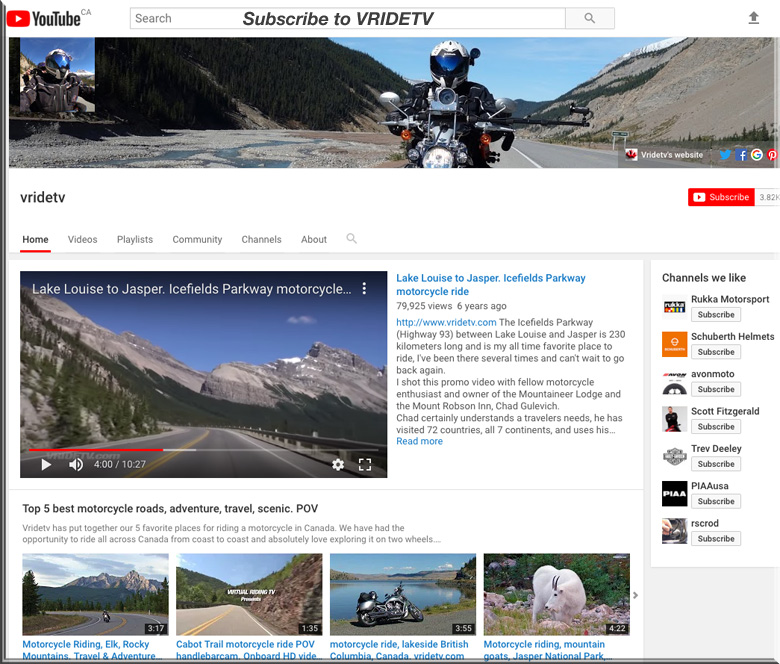 YOUTUBES BEST MOTORCYCLE RIDING VIDEOS